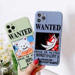 coque iphone one piece affiche wanted 4