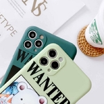 coque iphone one piece affiche wanted 5