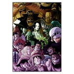 tableau toile one piece pire generation supernovae 1