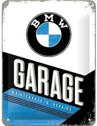 Plaque BMW garage 30 x 40