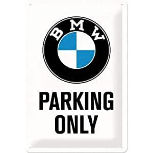 Plaque Bmw parking 30 x 40