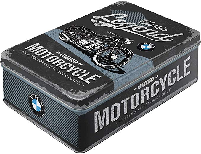 Boite métal Bmw moto legends