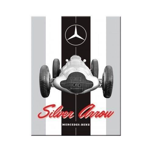 magnet mercedes Silver arrow 8x6