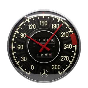Horloge Mercedes compteur