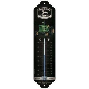 Thermomètre John Deere rétro