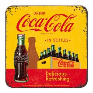 Lot de 5 dessous de verre Coca-cola