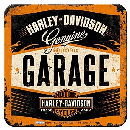 dessous de verre harley garage