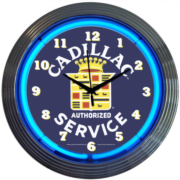 Horloge néon Cadillac