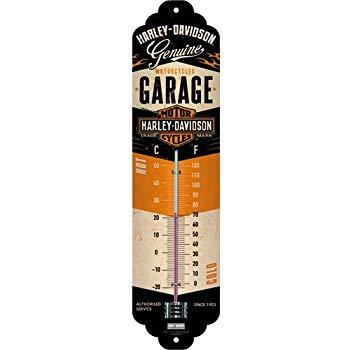 Thermomètre Harley garage