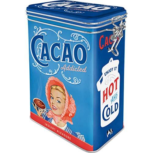 Boite hermétique vintage cacao