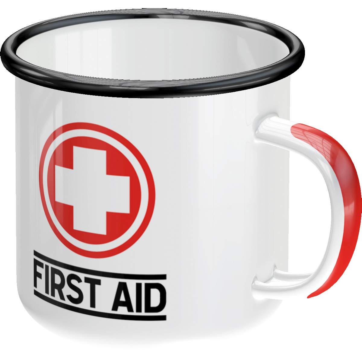 Mug émaillé First aid