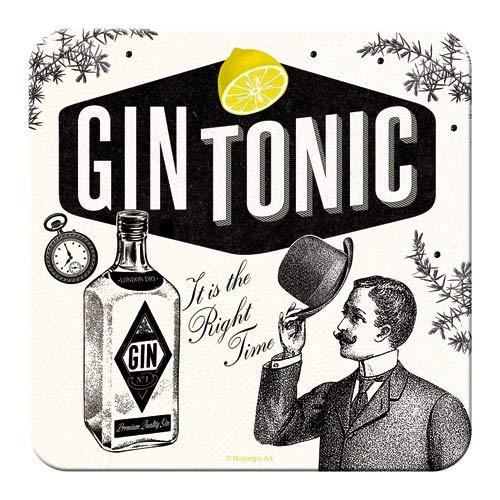 Lot de 5 dessous de verre gin Tonic