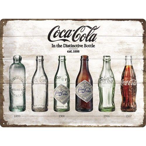 Plaque métal Coca-cola 40 x 30