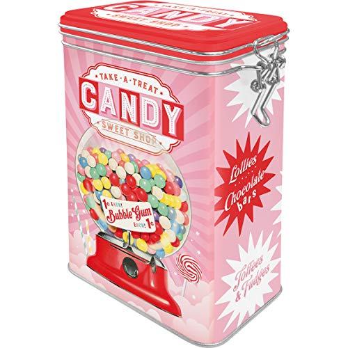 boite hermétique candy rétro vintage rangementbonbons