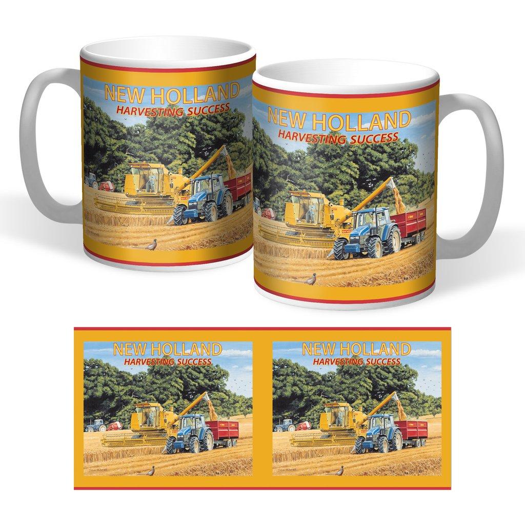 DE Dessous de Verre et Mug Ensemble de tracteurs Set de table
