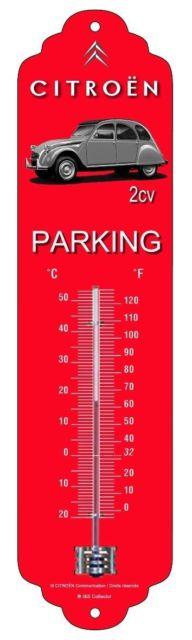 Thermomètre Citroën 2 Cv