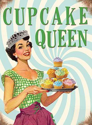 Magnet Cupcake Queen