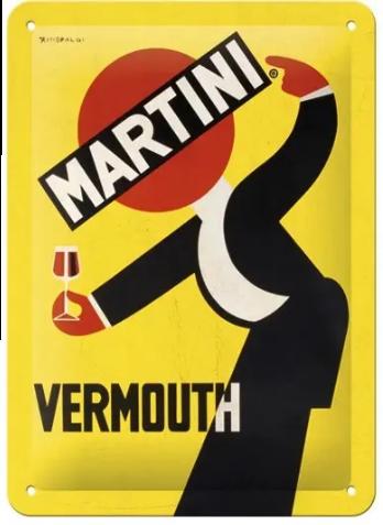 Plaque métal Martini 15 x 20
