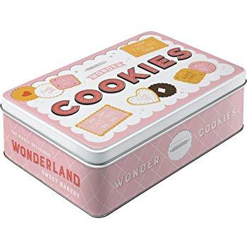 Boite métal wonder cookies