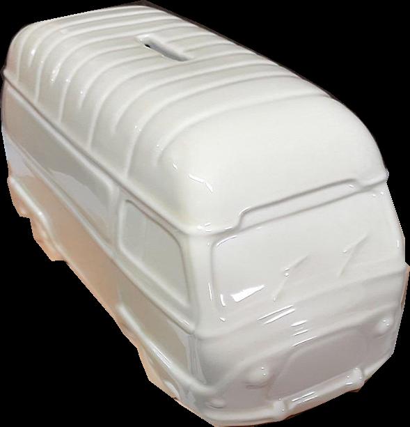 Tirelire porcelaine Renault Estafette