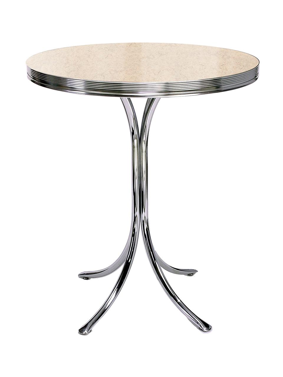 Table haute rétro