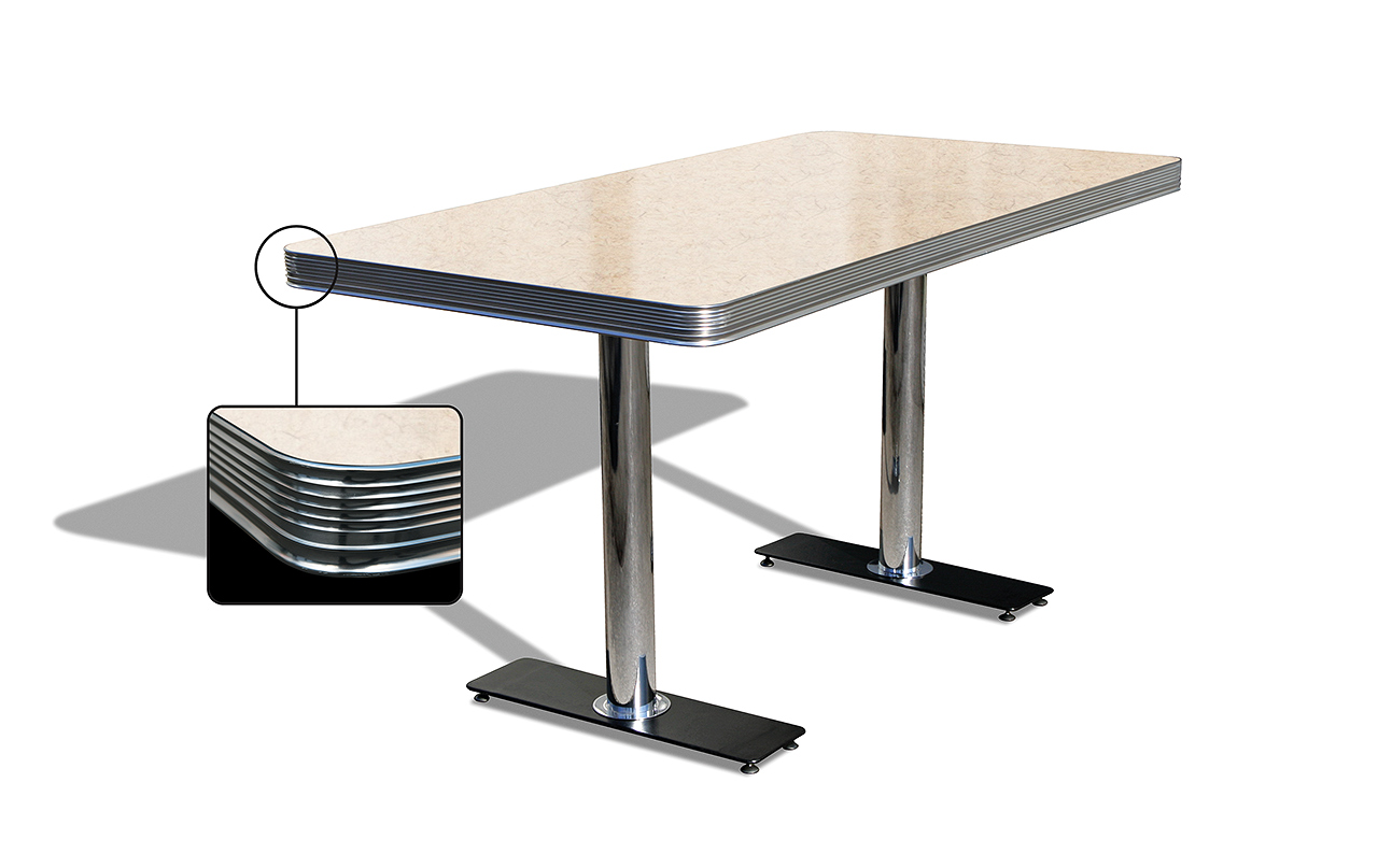 Table de Diner 2 pieds