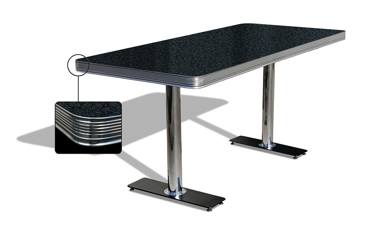 Table de Diner 2 pieds grande