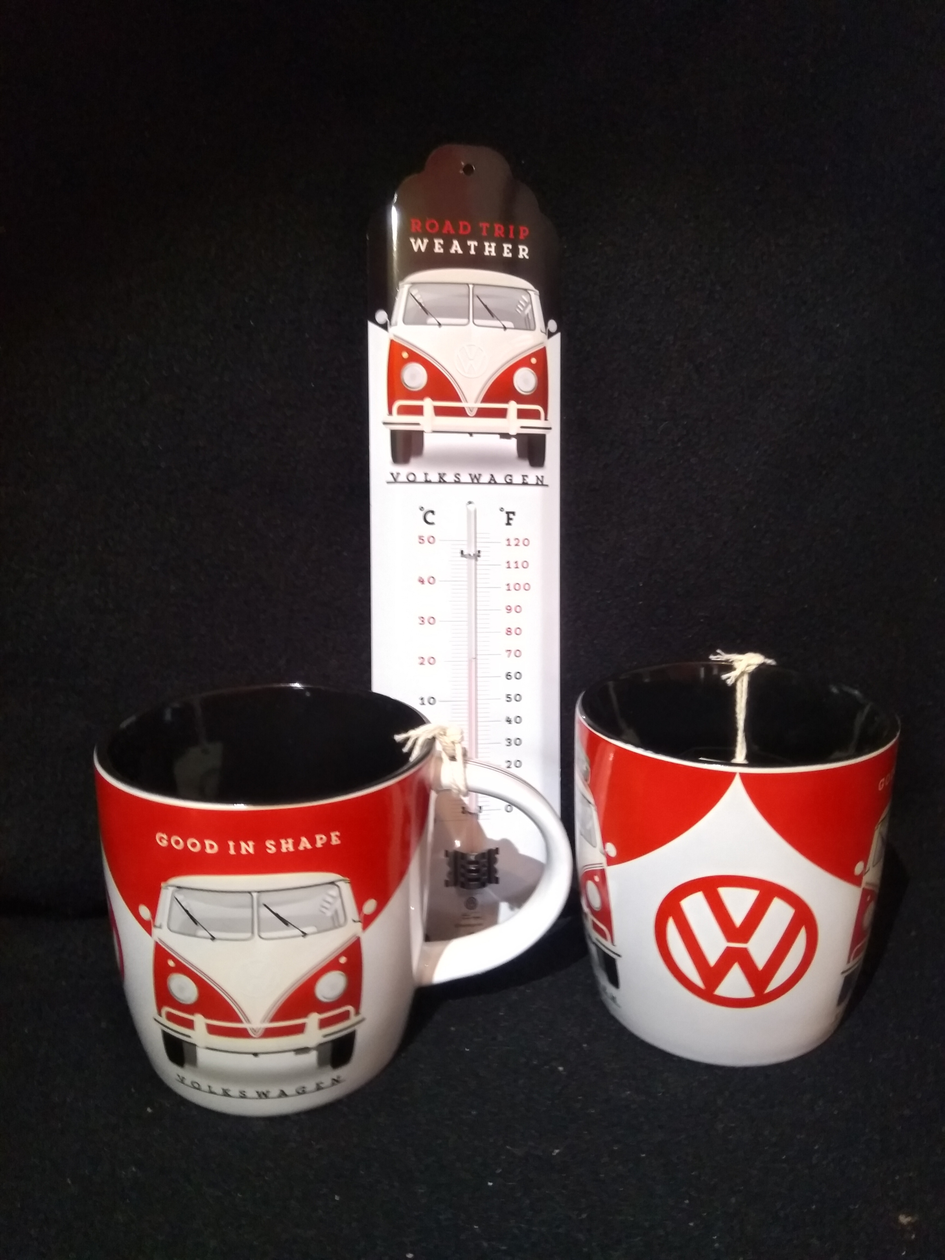Lot thermomètre + 2 mugs Combi