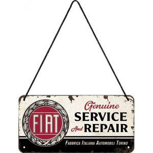 Plaque à suspendre Fiat 20 x 10