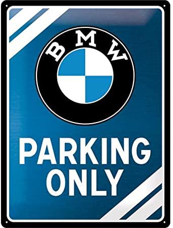 Plaque Logo BMW métallic Edition 30 x 40