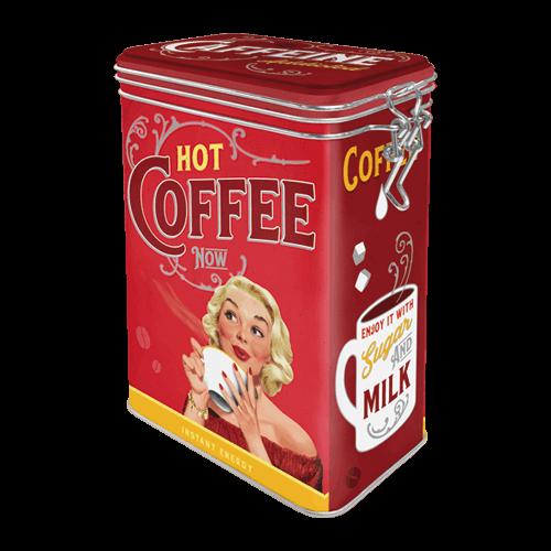 Boite hermétique Hot coffee