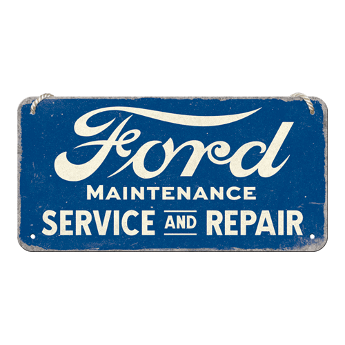 Plaque à suspendre Ford