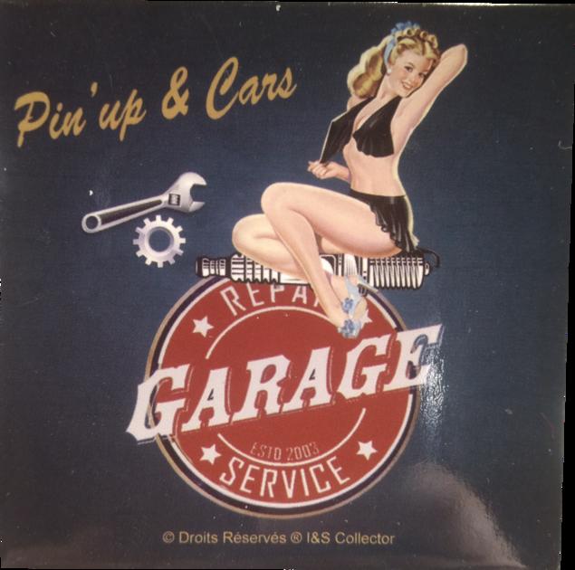 Magnet Pin-up garage
