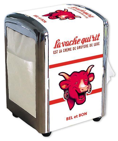 Distributeur de serviettes La vache qui rit Blanc