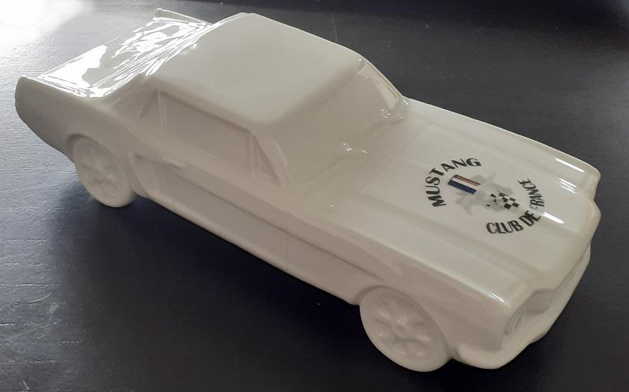 Ford Mustang 1964 porcelaine