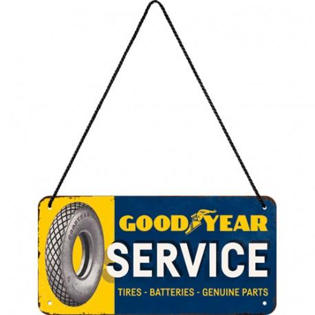 Plaque à suspendre Goodyear