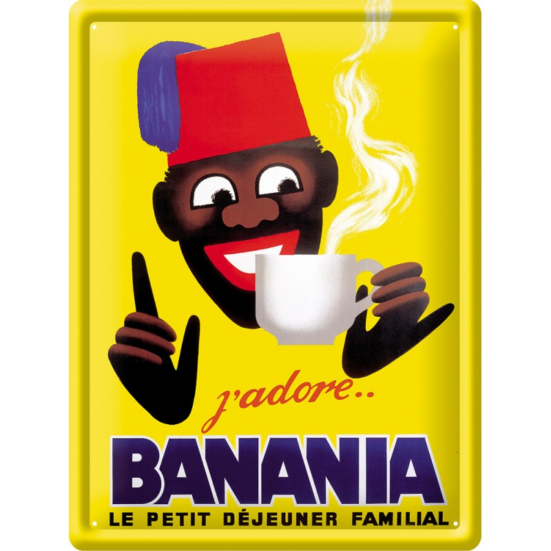 Plaque publicitaire Banania