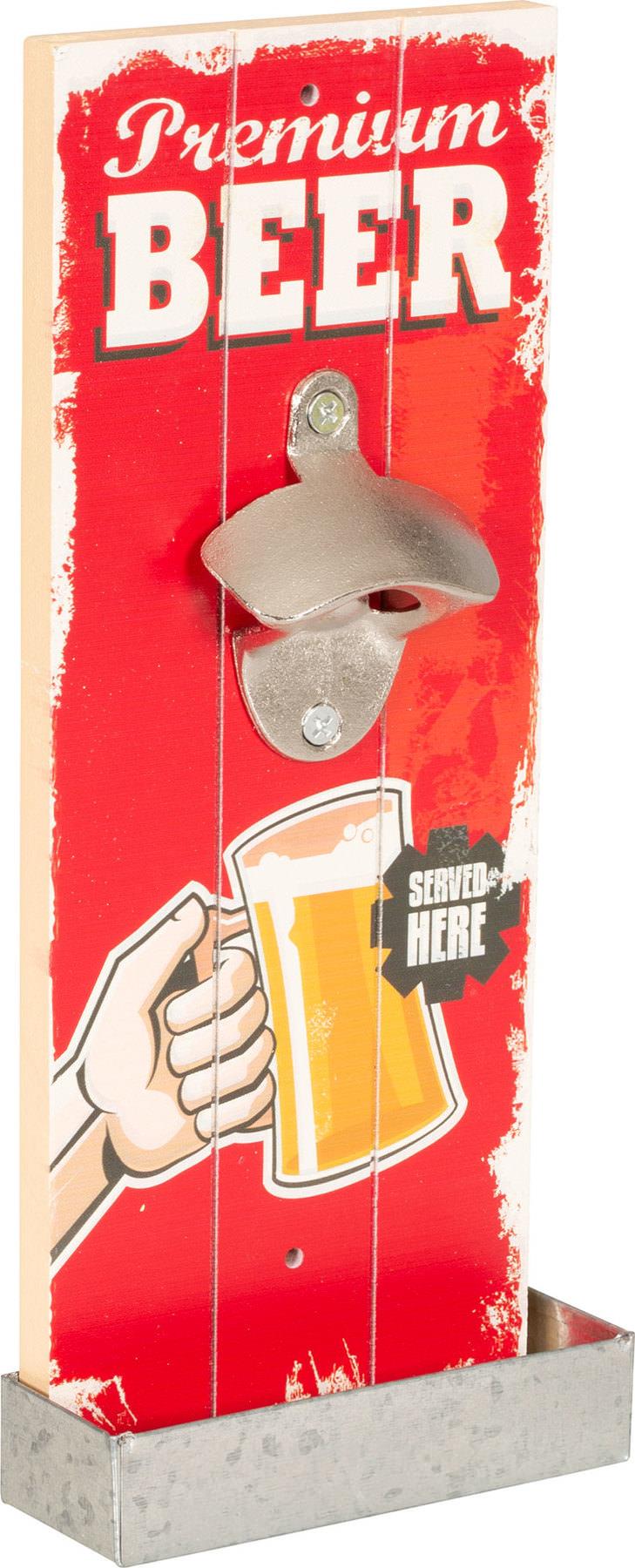 Décapsuleur mural Bière