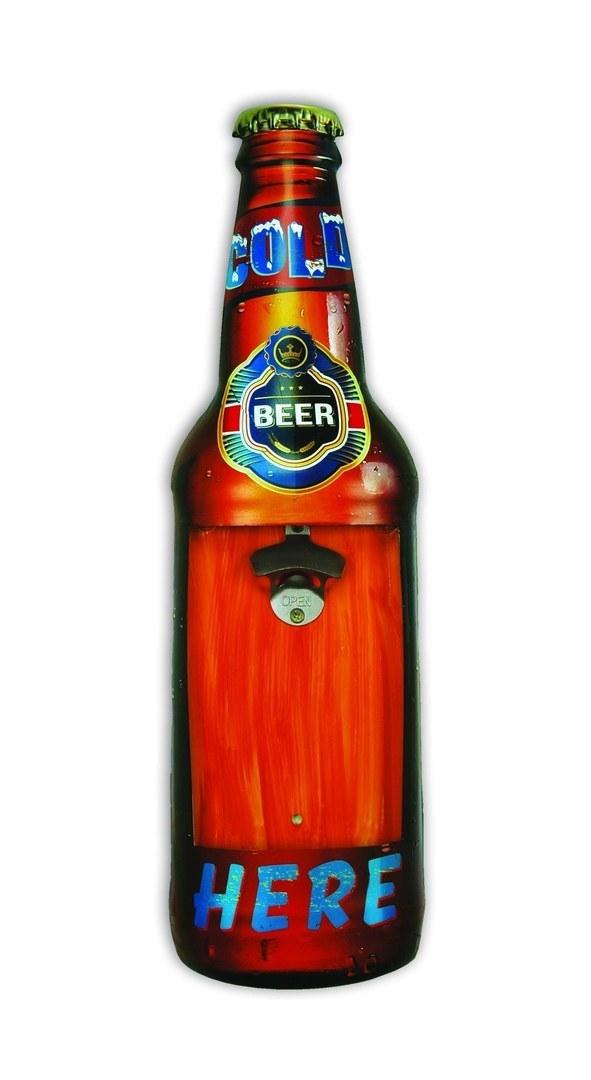 Décapsuleur mural cold beer 60 cm