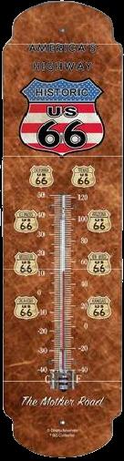 Thermomètre XL Route 66