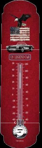 Thermomètre XL US legend car