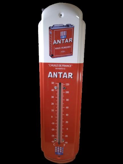 thermomètre antar xl grand huile vintage garage
