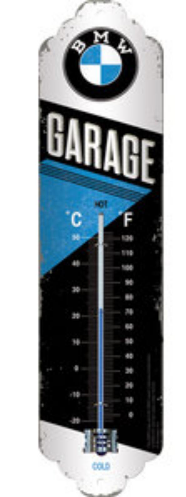 Thermomètre BMW garage