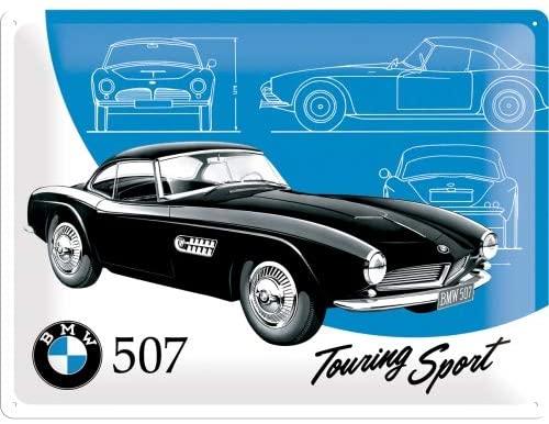 Plaque Bmw 507 sport touring 40x30