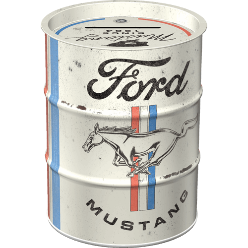 Tirelire baril Ford Mustang