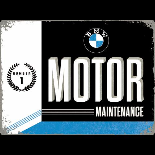 Plaque Bmw Motor 30x40