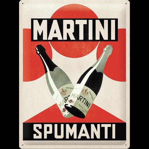 Plaque métal Martini Spumanti 30x40