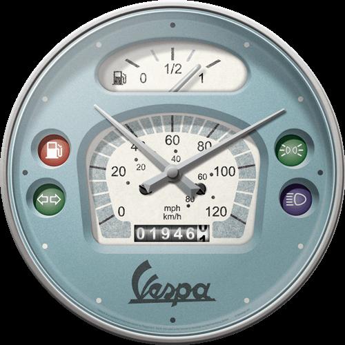 Horloge compteur Vespa