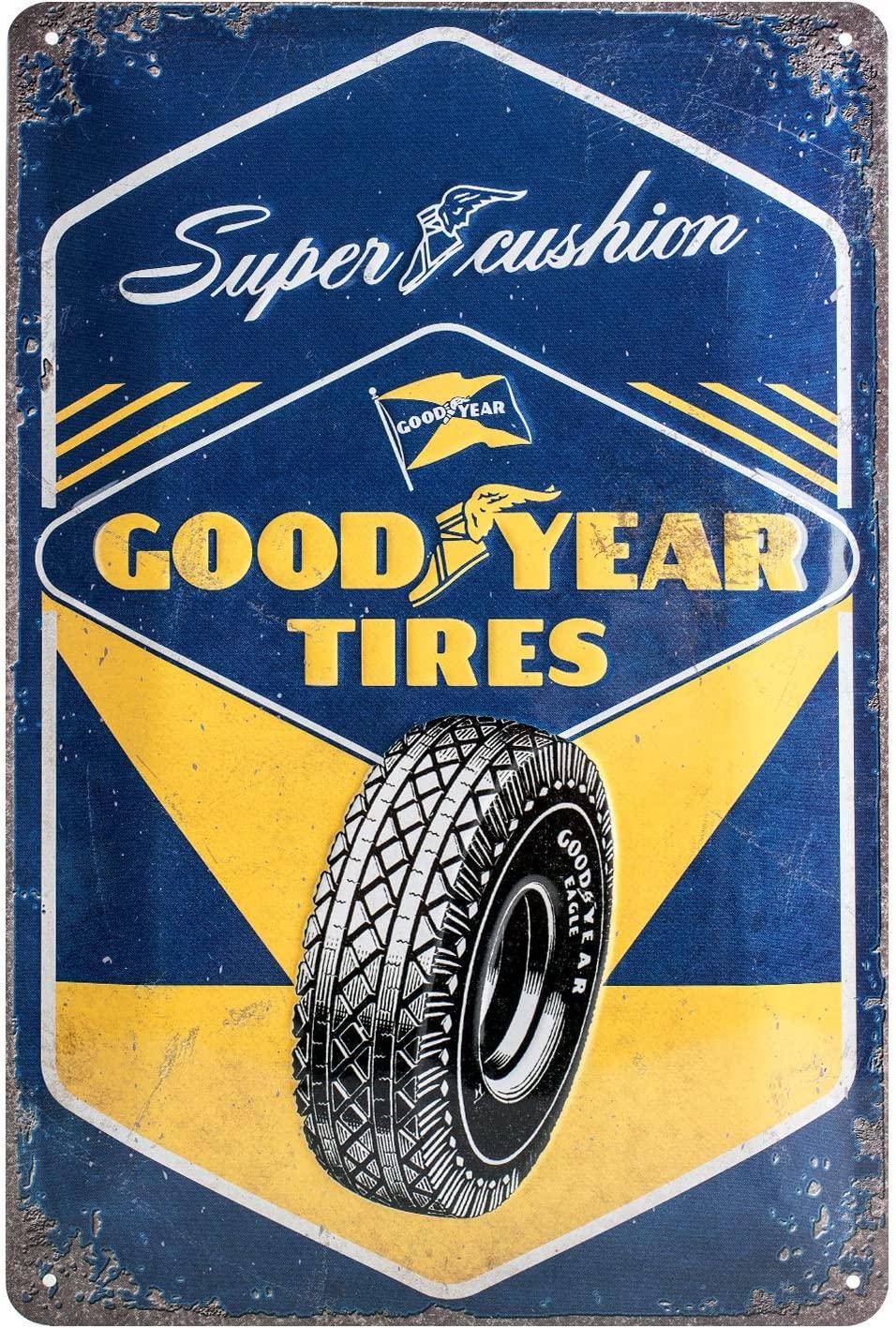 Plaque Goodyear tires 20 x 30