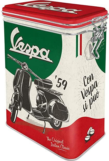 Boite vintage hermétique Vespa